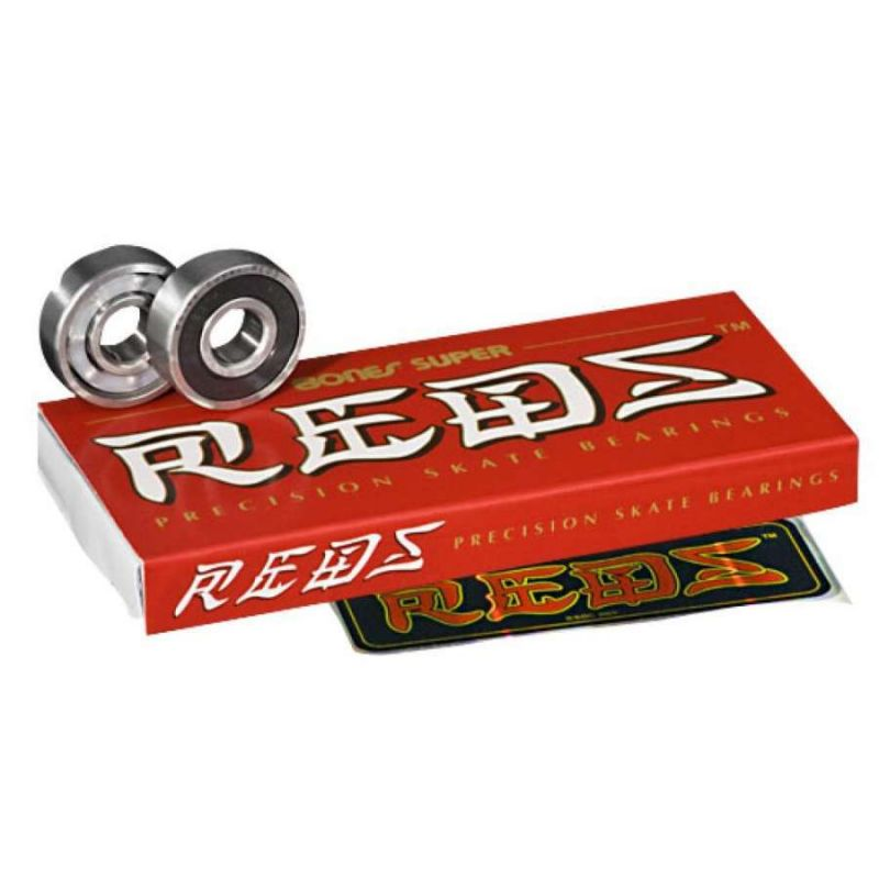 Bones Super REDS Bearings x8