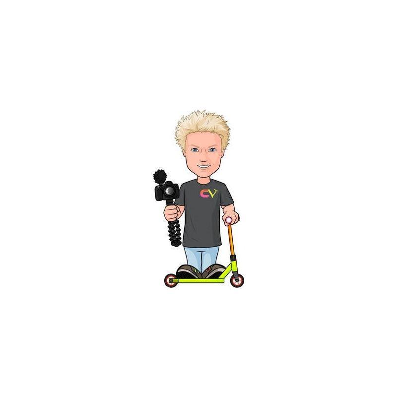Figz Collection Rider Sticker - Claudius Vertesi