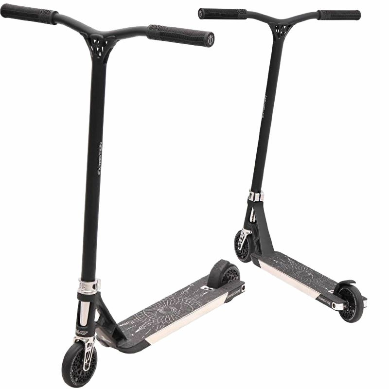 Triad Conspiracy Complete Pro Stunt Scooter - Black / Silver