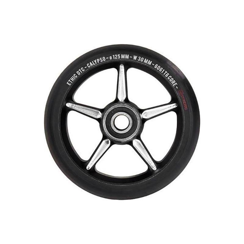 Ethic DTC Calypso 12 Standard (STD) Black 125mm Scooter Wheel