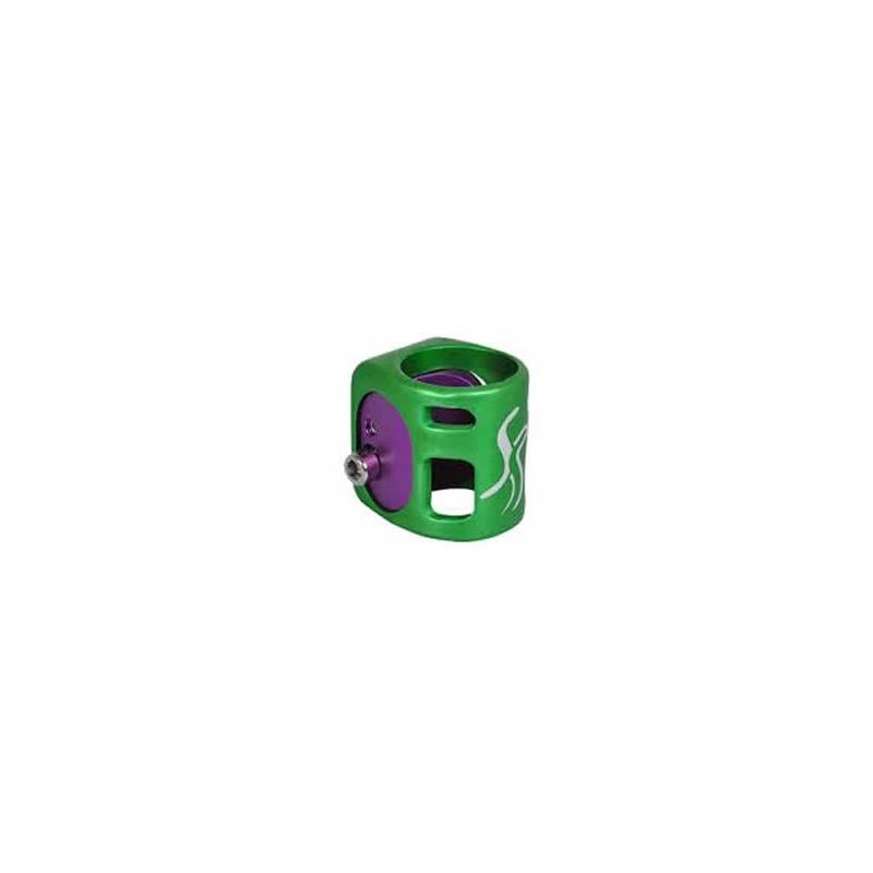 Fasen 2 Wedge Green / Purple Scooter Clamp