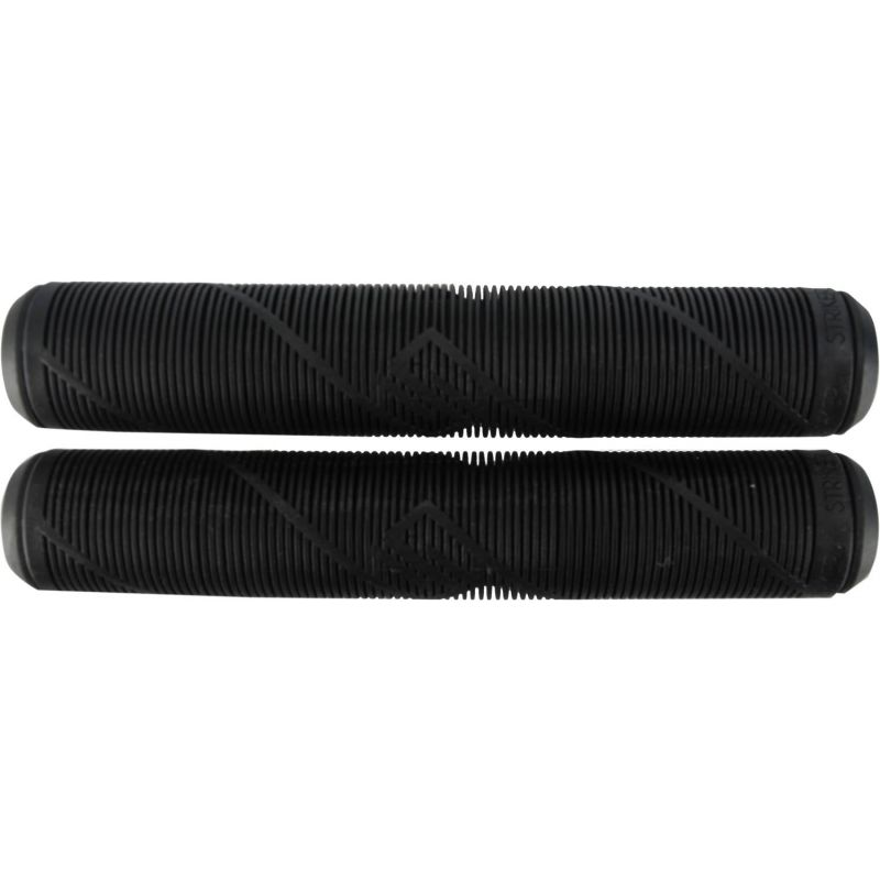 Striker 165mm Logo Scooter Grips - Black