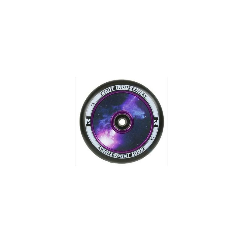 Root Industries AIR Hollowcore 120mm Scooter Wheel - Black / Galaxy
