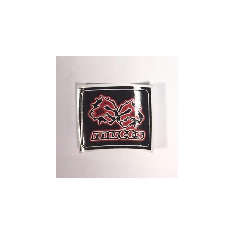 Mutts Logo Sticker - Red