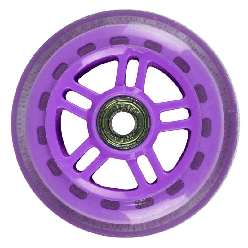 JD Bug Original Street 100mm Scooter Wheels - Purple (2 pack)