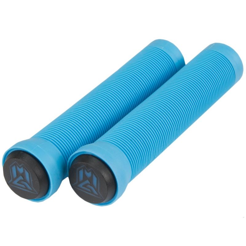 Madd MGP 150mm Sky Blue Scooter Grips with Bar Ends
