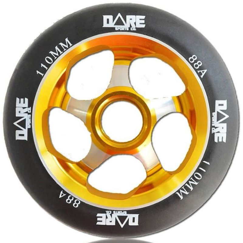 Dare Motion Black Gold 110mm Scooter Wheel