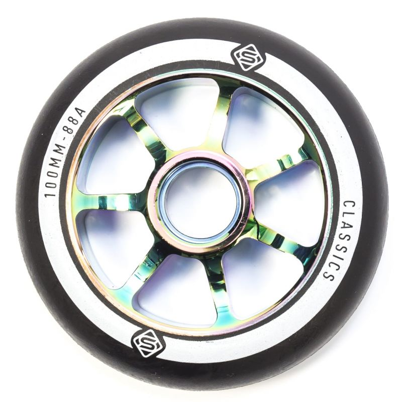 Skates Classic 100mm Scooter Wheel - Neochrome