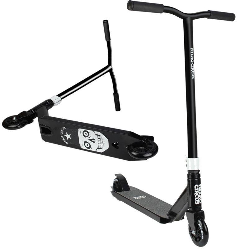 Nitro Circus RW CX1 Complete Stunt Scooter - Gloss Black / Black