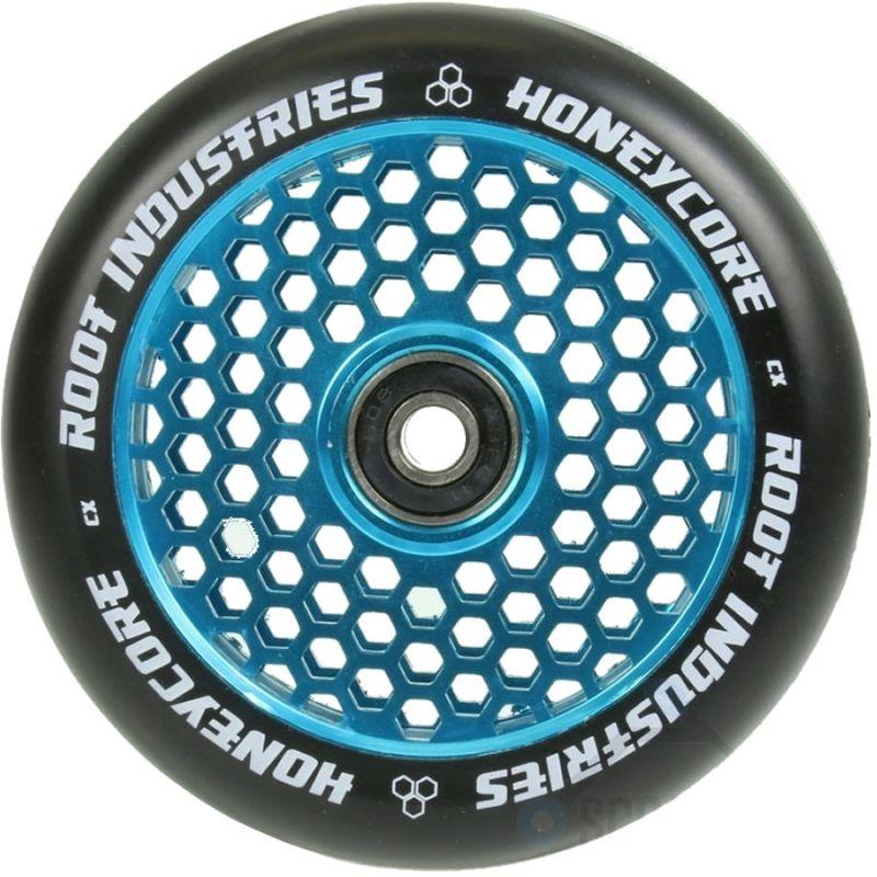 Root Industries Honeycore 110mm Wheel - Black / Blue