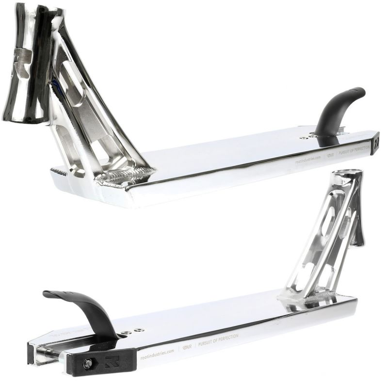 """Root Industries AIR Small Scooter Deck - Mirror Chrome – 19.5"""" x 4.8"""""""
