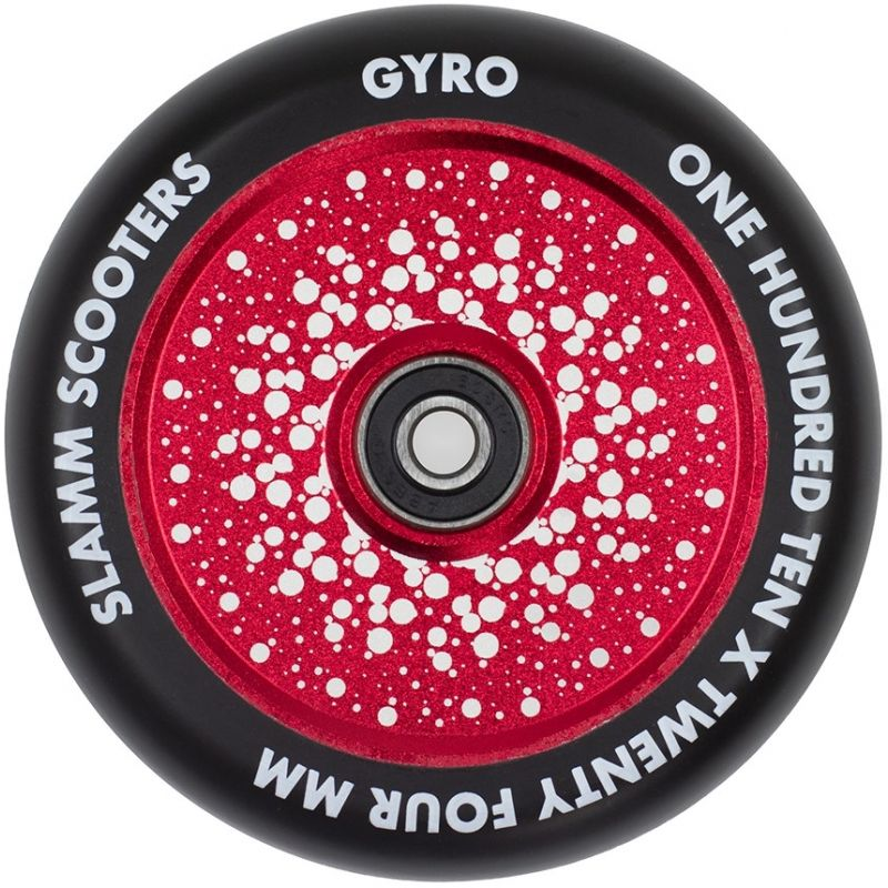 Slamm Gyro 110mm Scooter Wheel - Red
