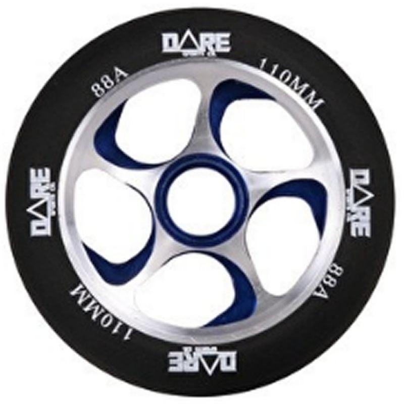 Dare Swift Black/Blue 110mm Scooter Wheel