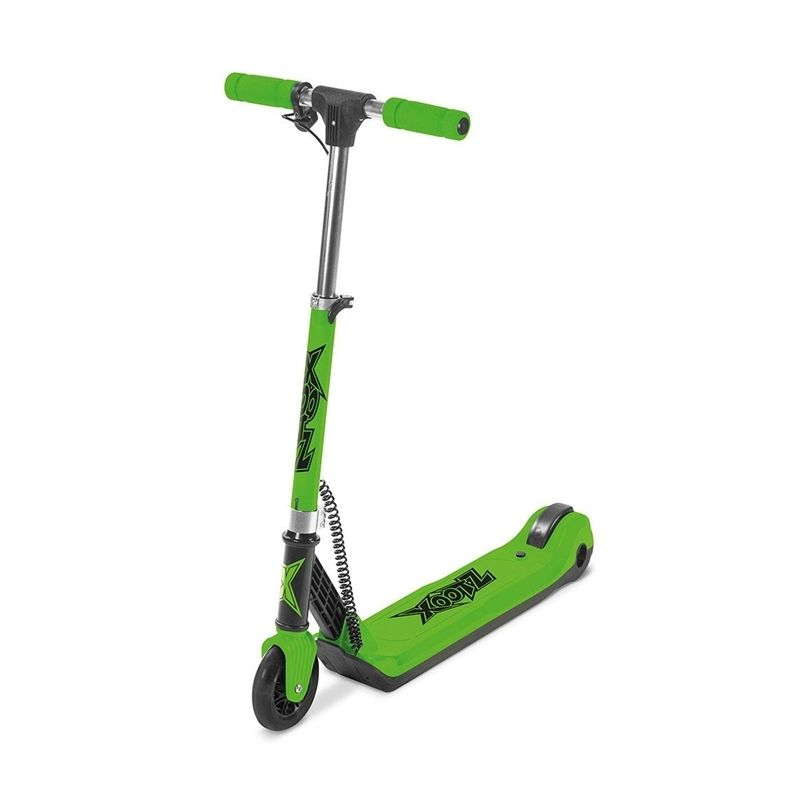 Xootz Element Green Electric Scooter