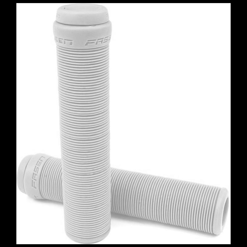 Fasen Flangeless Scooter Grips - White