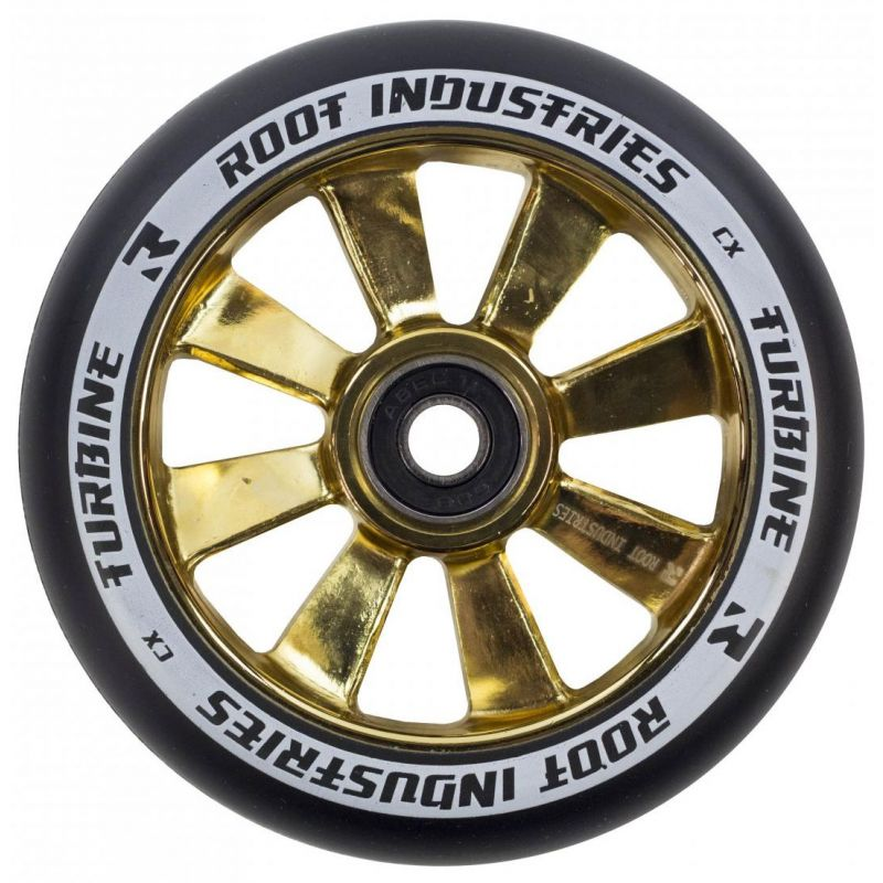 Root Industries Turbine 110mm Scooter Wheel - Gold