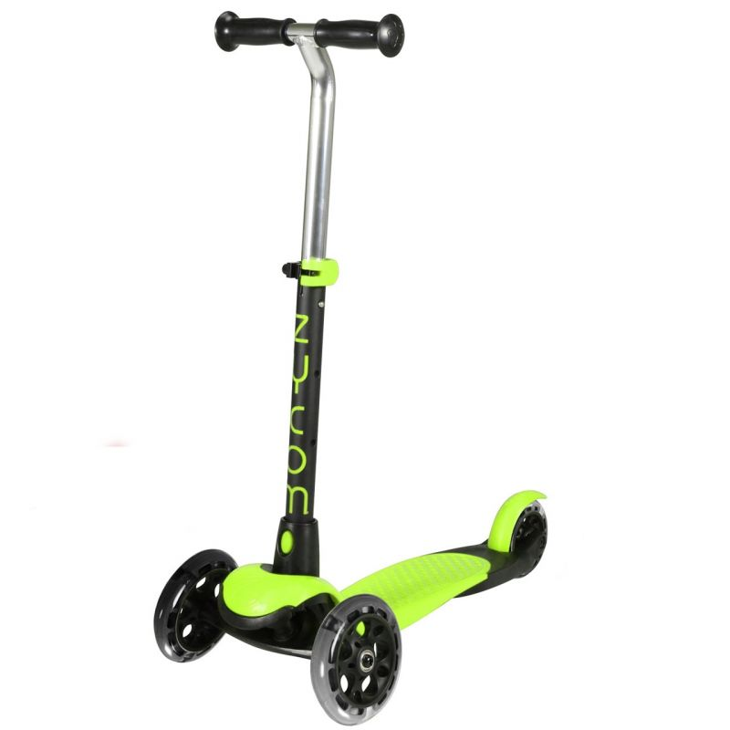 Zycom Zing 3 Wheel Light Up Lime / Black Wheels Scooter
