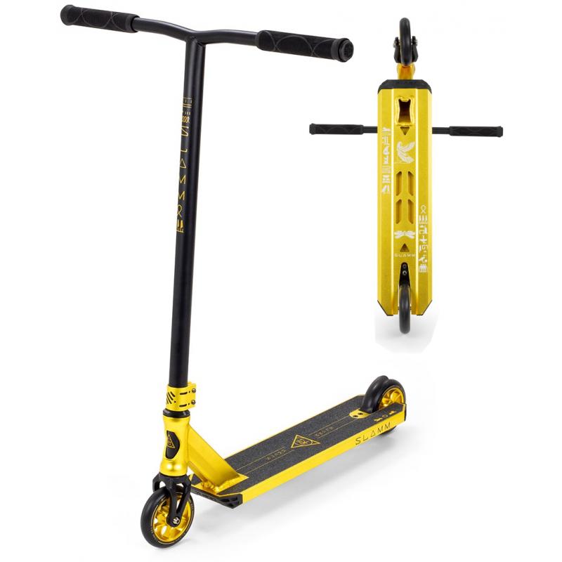 SLAMM Sentinel V4 Stunt Scooter - Gold