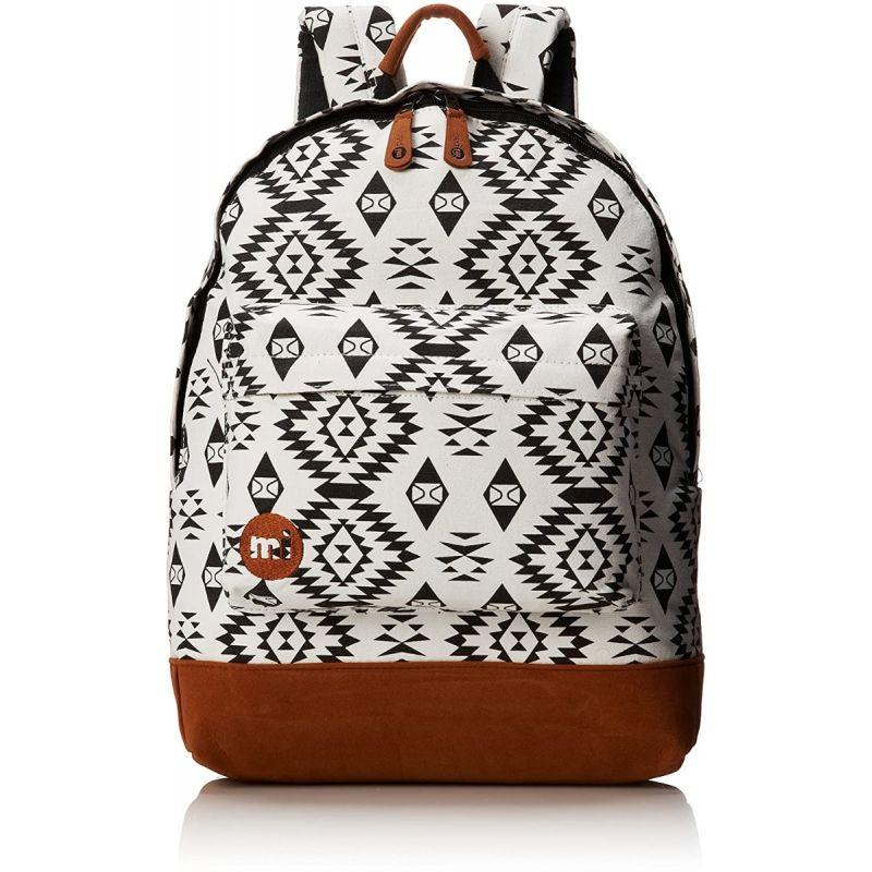 Mi-Pac Native Black White Backpack