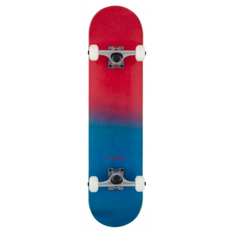 """Rocket Double Dipped Red / Blue Complete Skateboard - 31"""" x 7.5"""""""