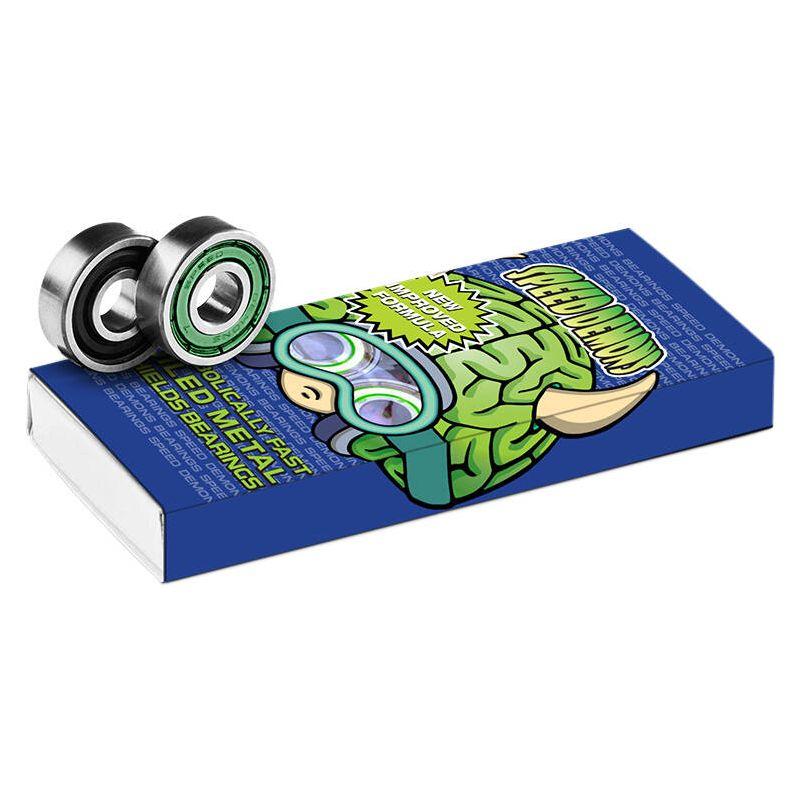 Speed Demons ABEC 5 Bearings Green Brainiac x8