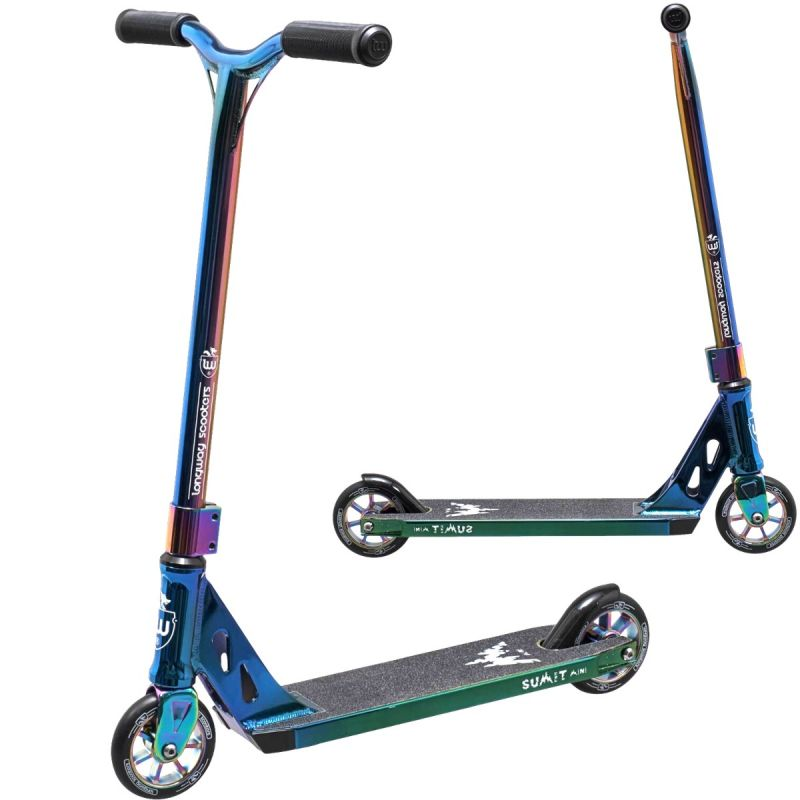 Longway Summit Mini 2K19 Complete Stunt Scooter - Full Neochrome