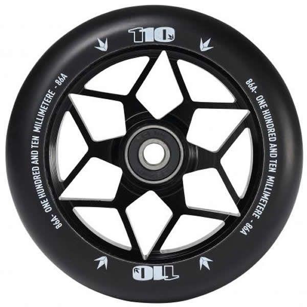 Blunt Envy Diamond 110mm Scooter Ruota-Marea nera