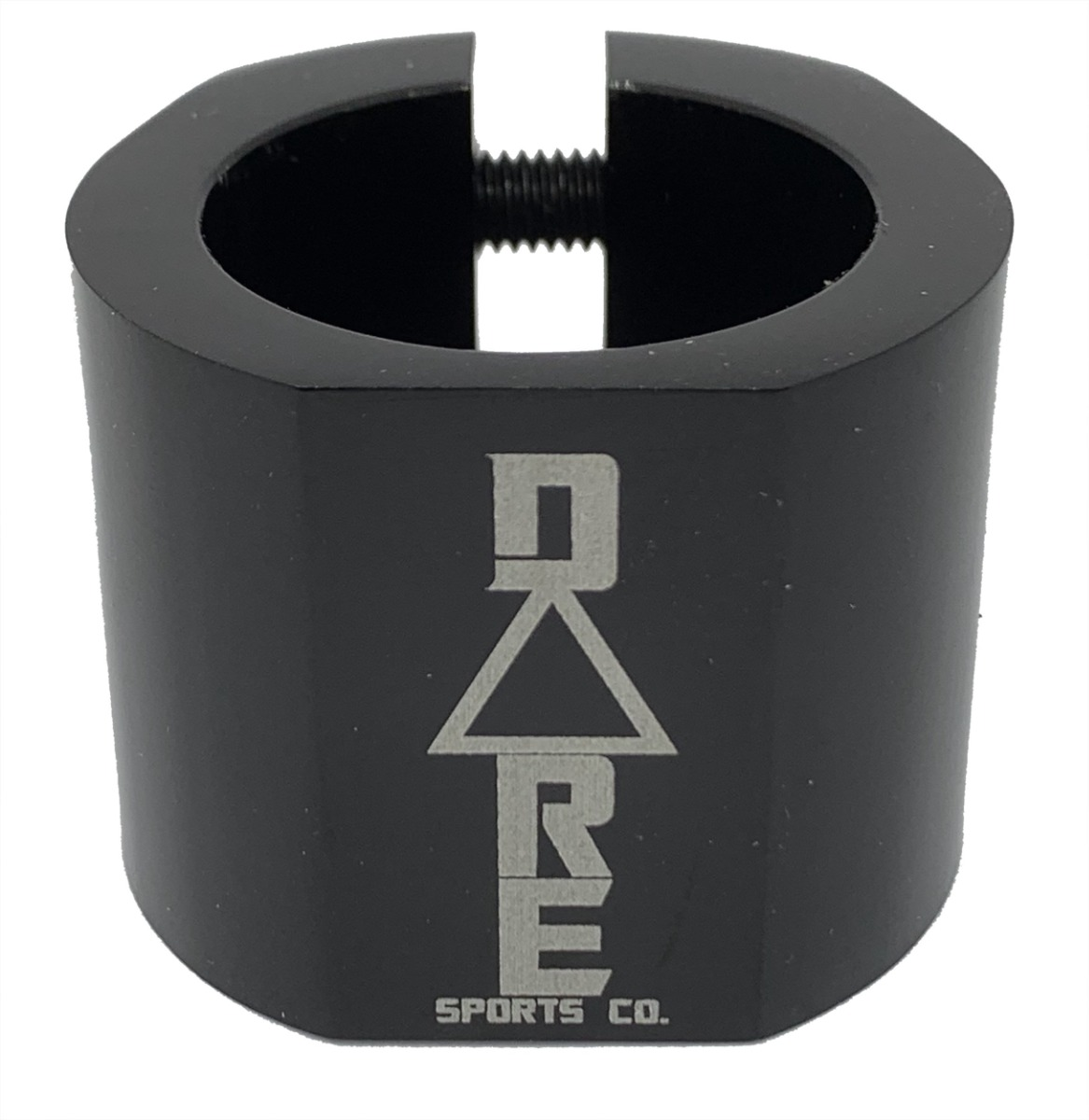 An image of Dare Warlord Standard Double Scooter Clamp - Black