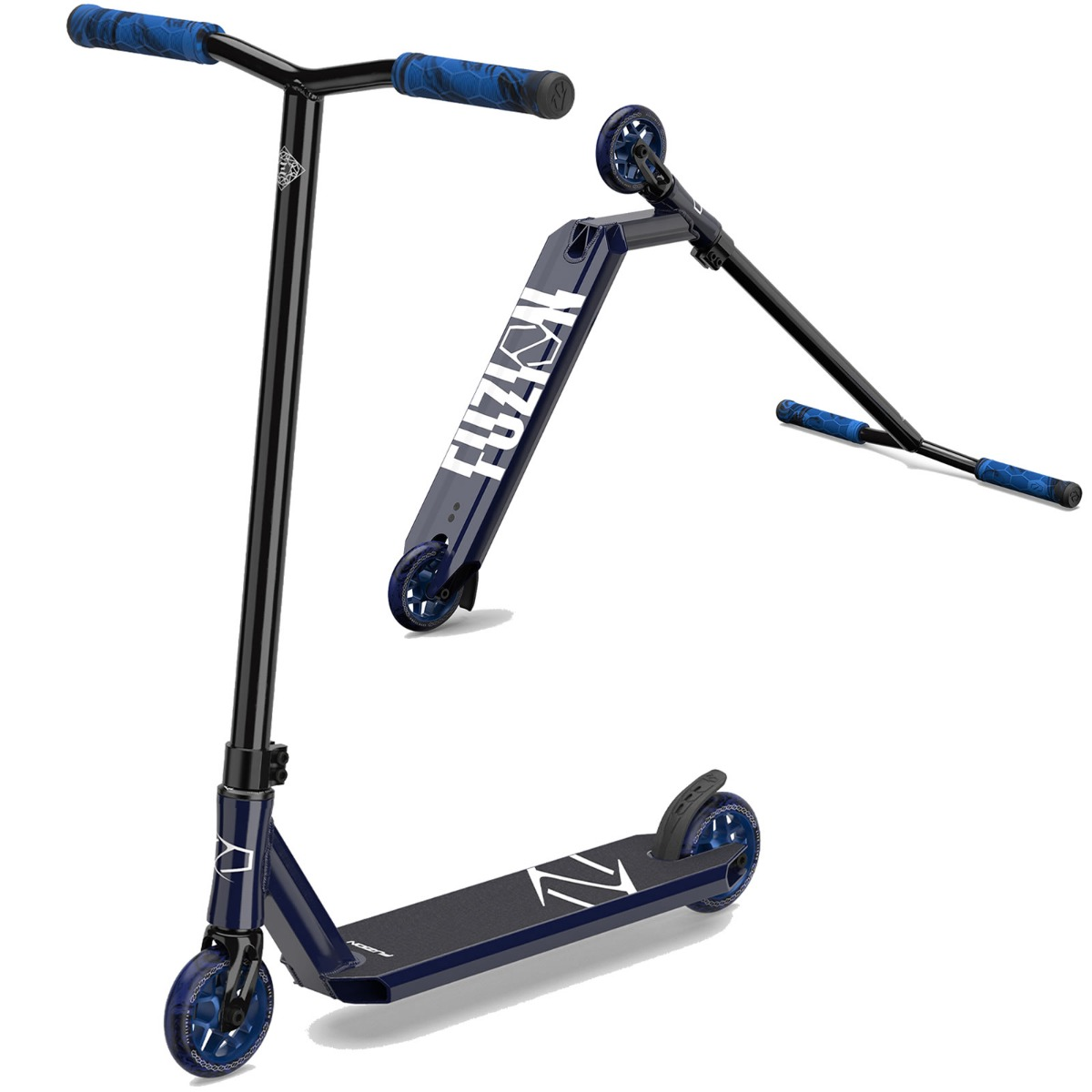 An image of Fuzion Z250 2021 Complete Stunt Scooter - Blue