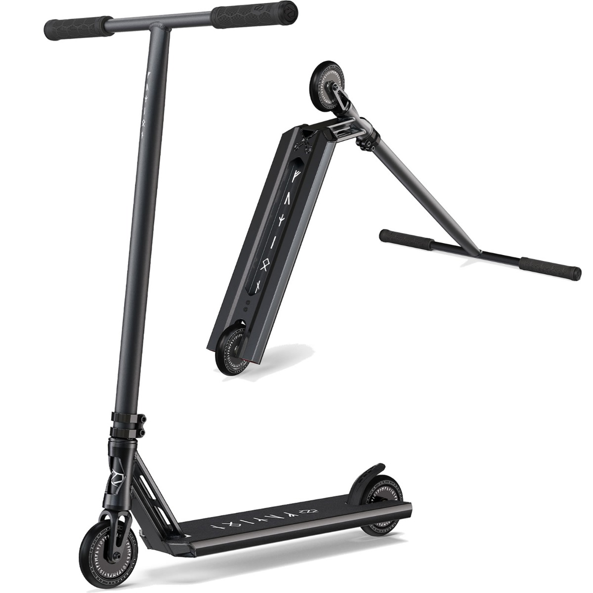 An image of Fuzion Z350 2021 Boxed Street Stunt Scooter - Black