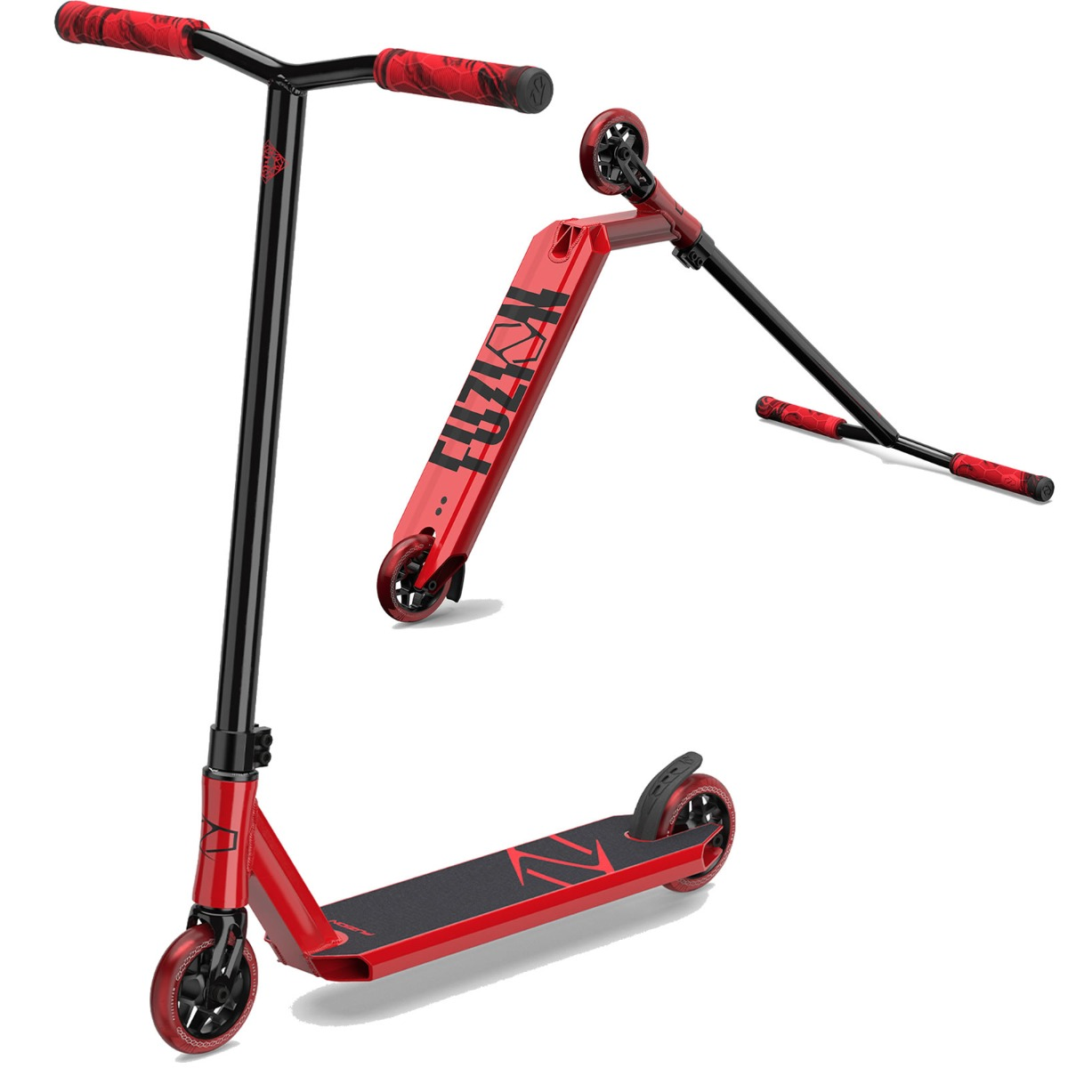 An image of Fuzion Z250 2021 Complete Stunt Scooter - Red