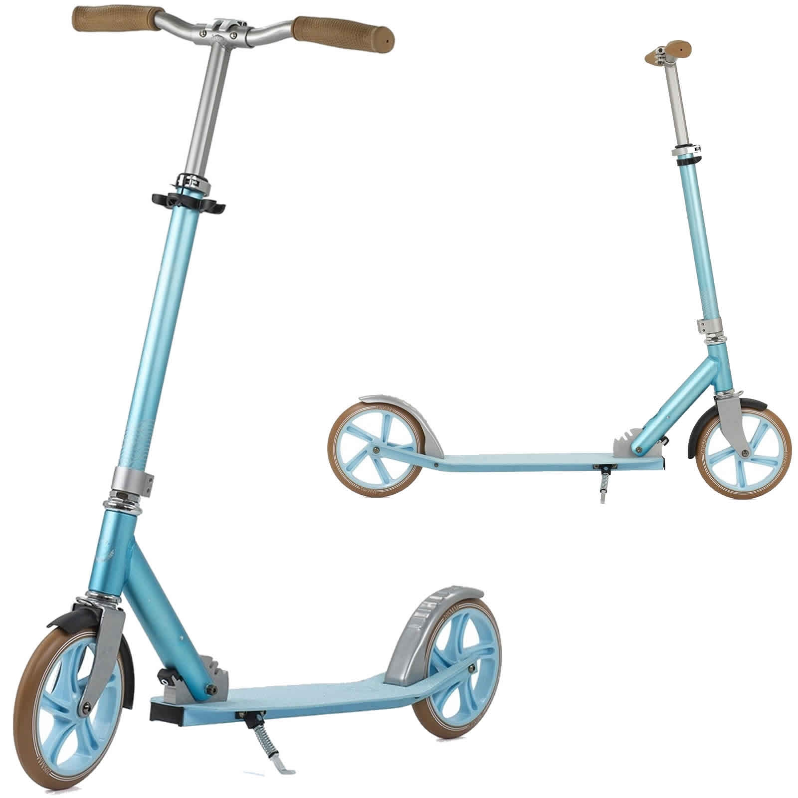 An image of Frenzy 205mm Kaimana Recreational Scooter - Blue