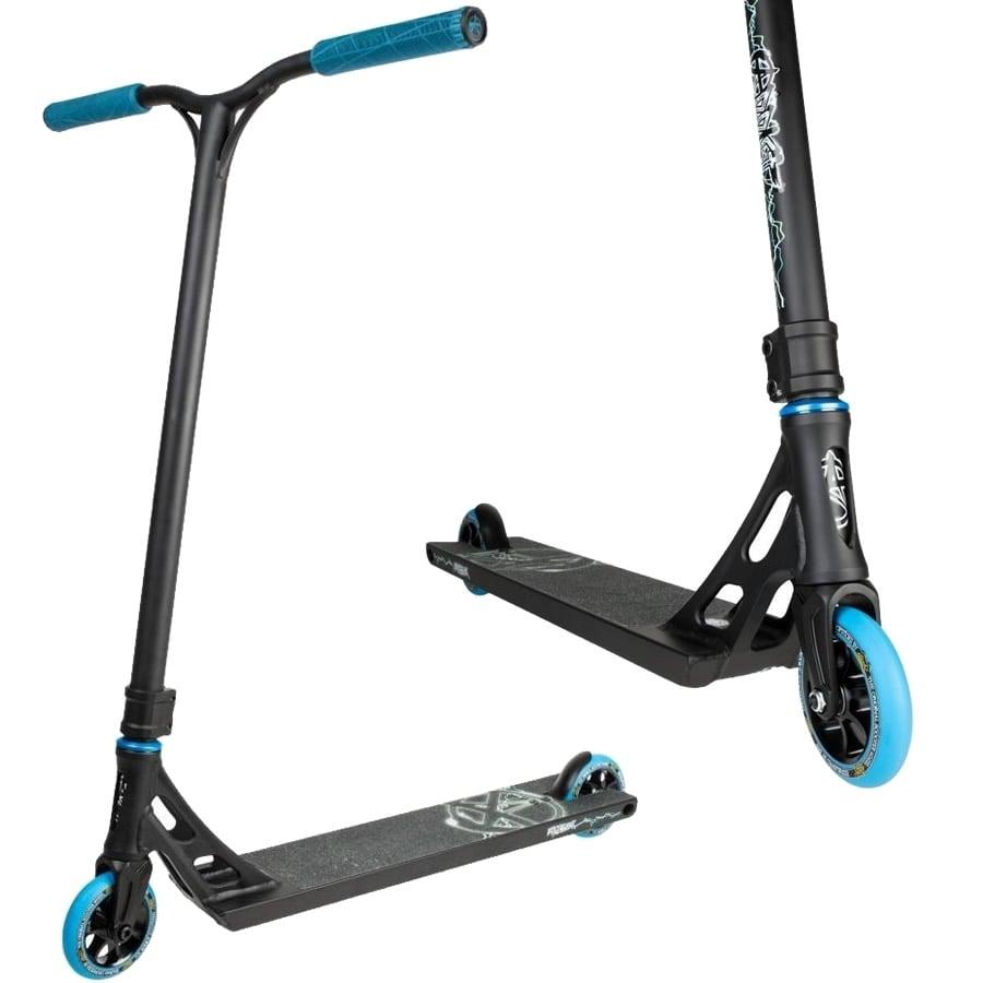 An image of Addict Equalizer Complete Pro Stunt Scooter - Black / Blue