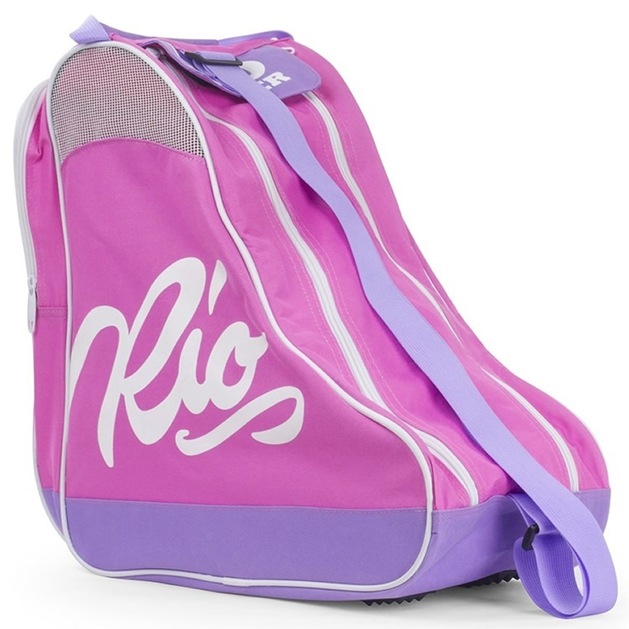 An image of Rio Roller Script Skate Bag - Pink / Lilac