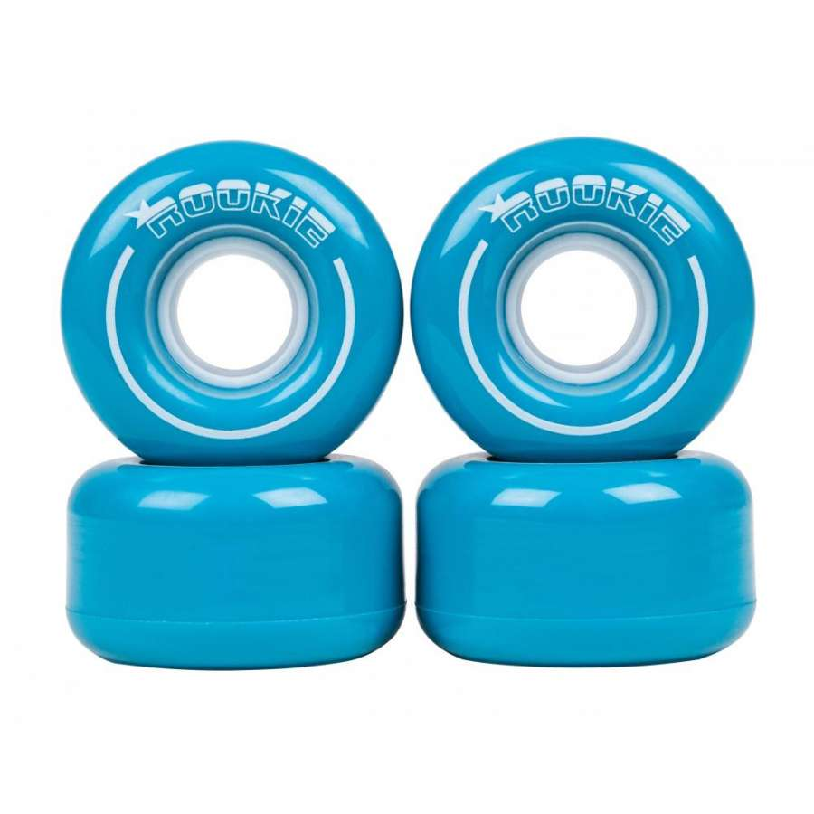 An image of Rookie All Star Blue Quad Roller Skate Wheels