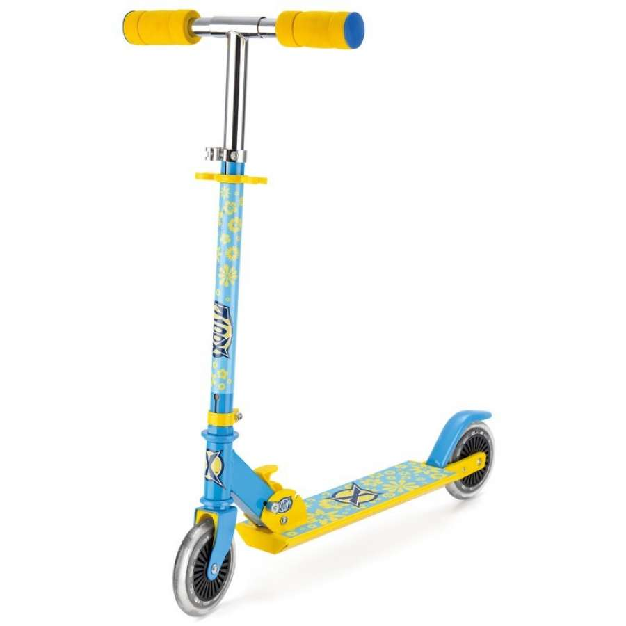 An image of Xootz Folding Scooter - Flower