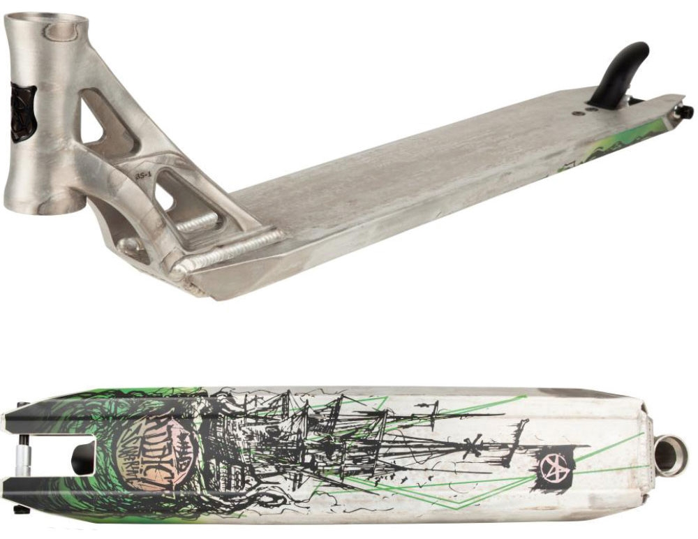 An image of Addict Blacksmith Alex Peasley Scooter Deck