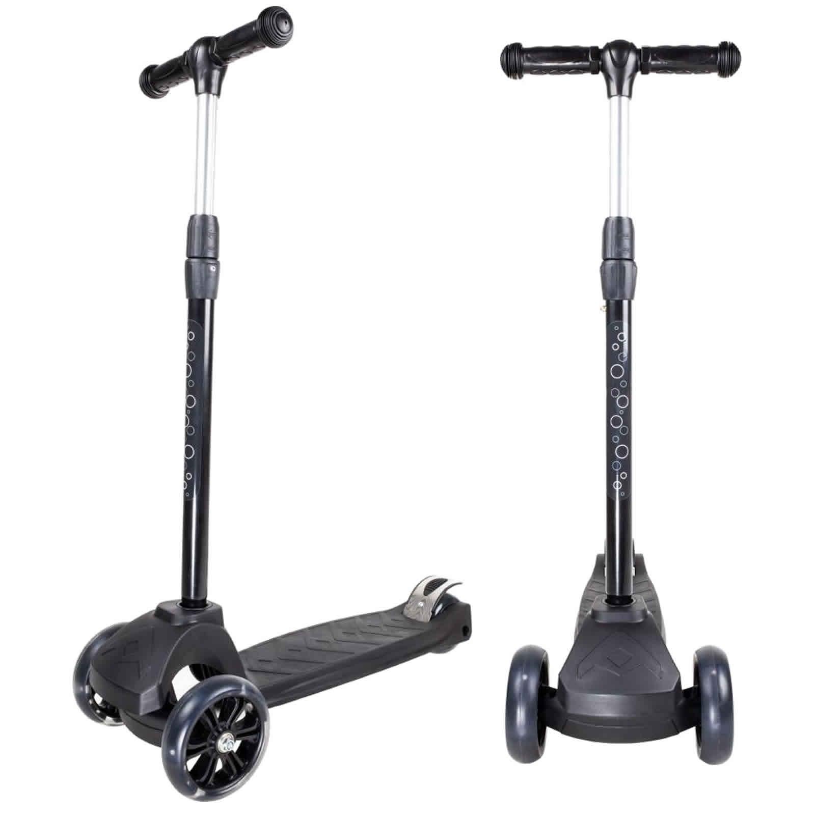 An image of Atlantic Atom Junior 3 Wheel Scooter - Black