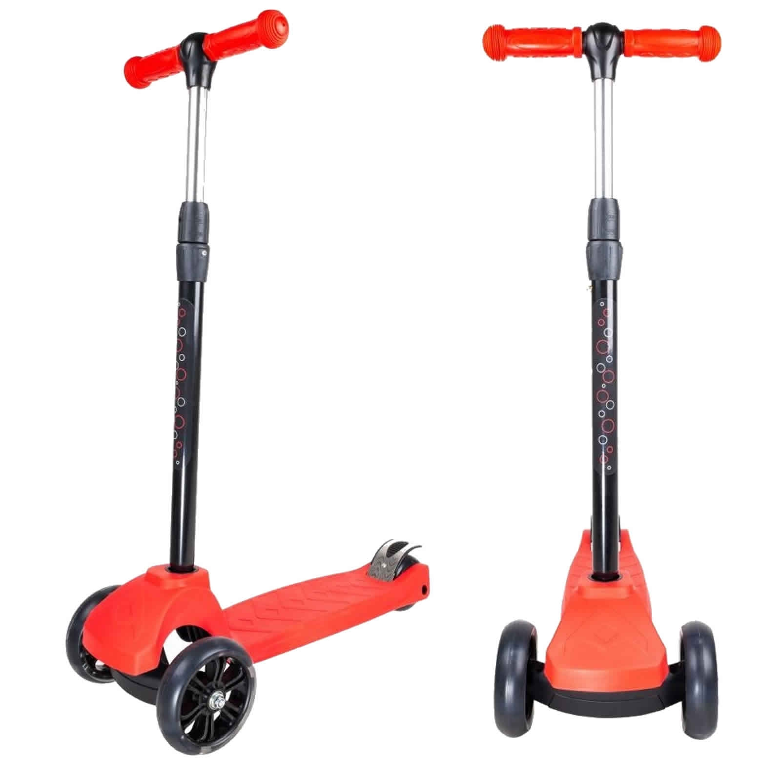 An image of Atlantic Atom Junior 3 Wheel Scooter - Red