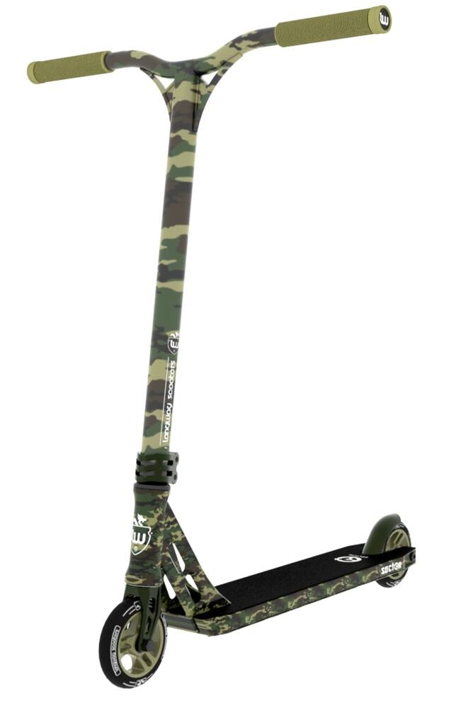 An image of Longway Sector 2K19 Complete Stunt Scooter - Camo