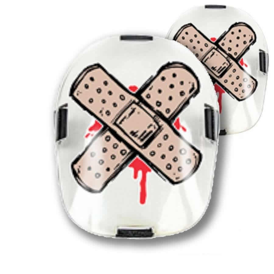An image of Deadbolt Protection Pad Cap Tatts - Band Aid