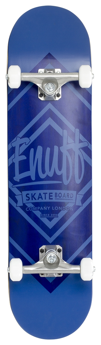 An image of Enuff Diamond Logo Complete Skateboard - Blue