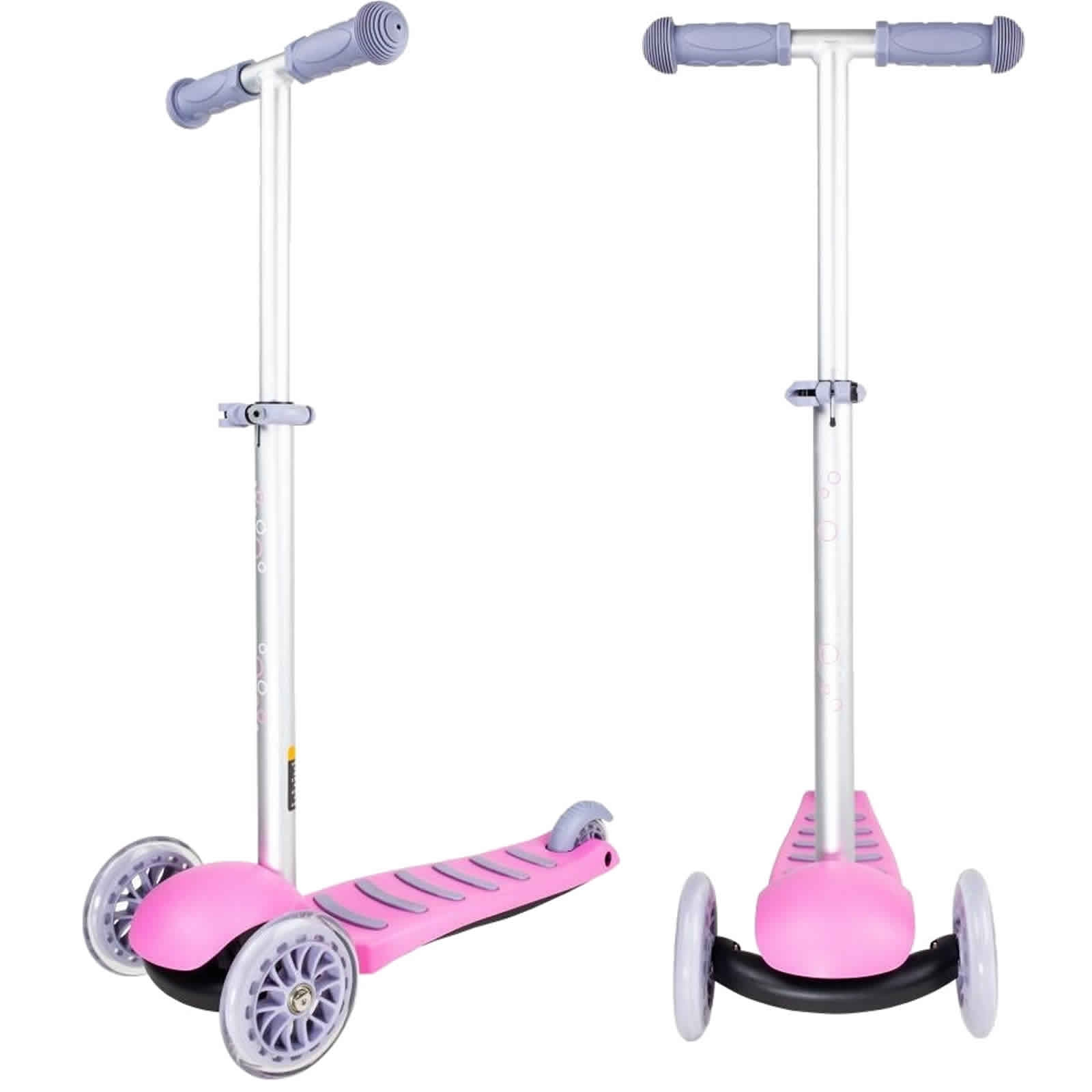 An image of Atlantic Nano Junior 3 Wheel Scooter - Pink