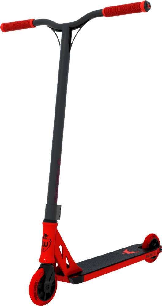 An image of Longway Summit 2K19 Complete Stunt Scooter - Black / Red