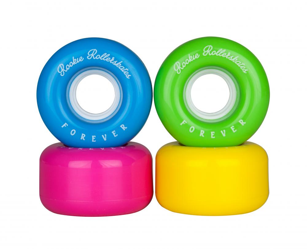 An image of Rookie All Star Quad Skate Wheels - Multi