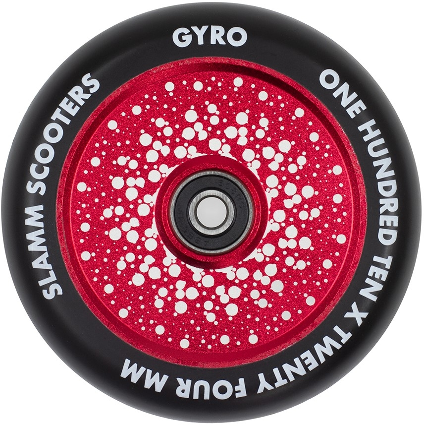 An image of Slamm Gyro 110mm Scooter Wheel - Red