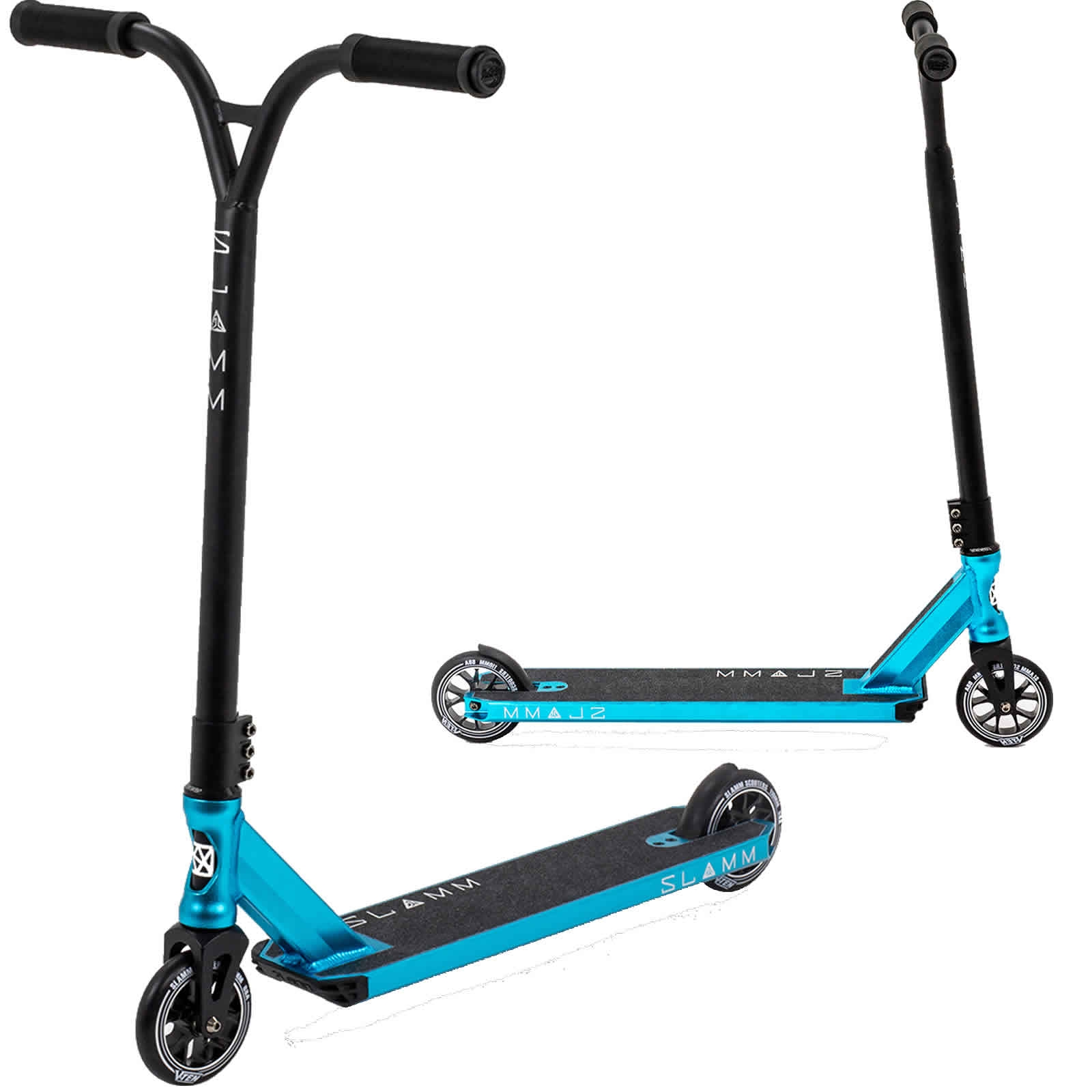 An image of SLAMM Assault IV Stunt Scooter - Blue