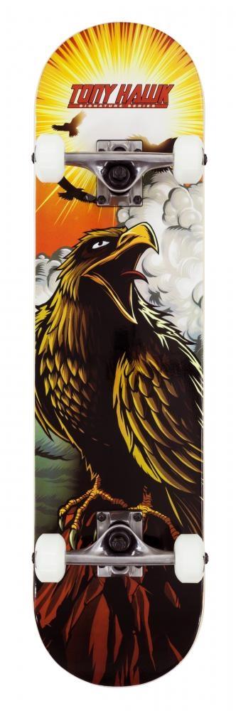 """An image of Tony Hawk 180 Series Complete Skateboard - Hawk Roar 7.75"""""""