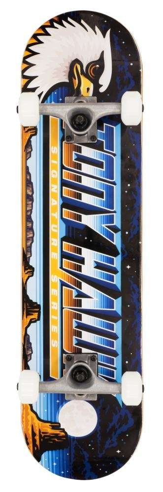 """An image of Tony Hawk 180 Series Complete Skateboard - Moonscape 8"""""""