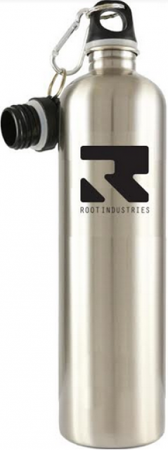 An image of Root Industries Thermal Water Bottle - Silver